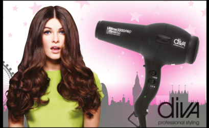 Create a Curly Blow using Diva Hairdryer | Salons Direct