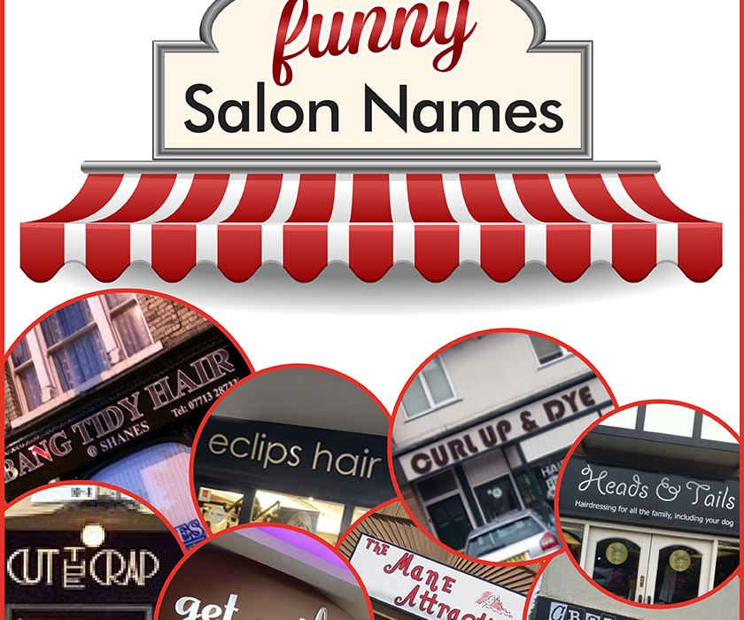 Funny Salon Names Infographic Salons