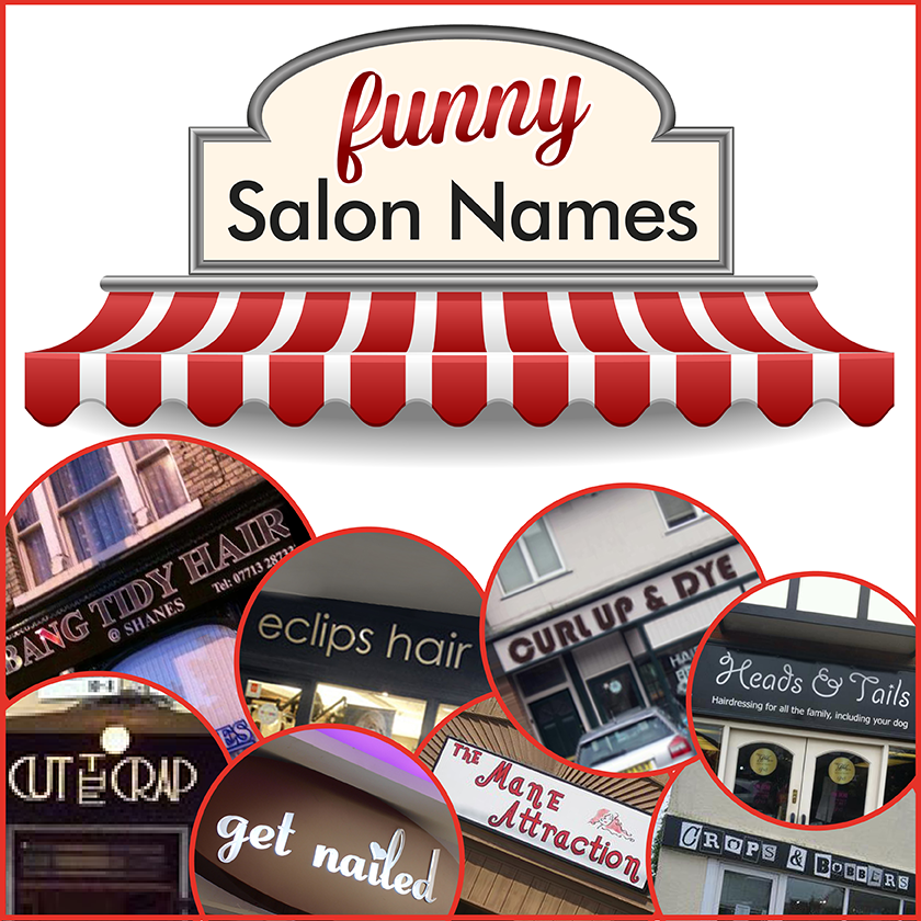 Funny Salon Names - Salons Direct