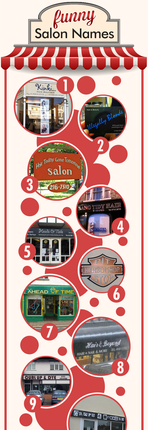 Funny Salon Names Infographic  Salons Direct