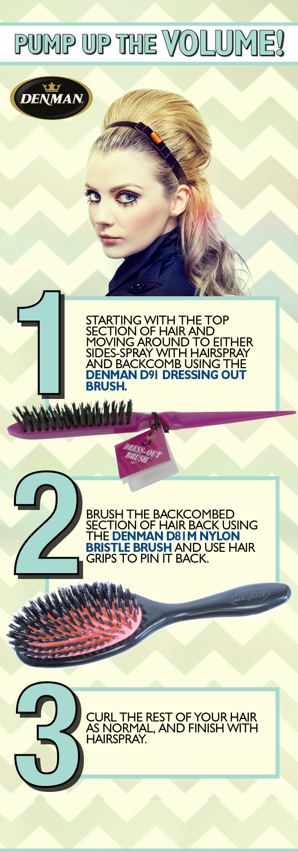 How to pump up a brush