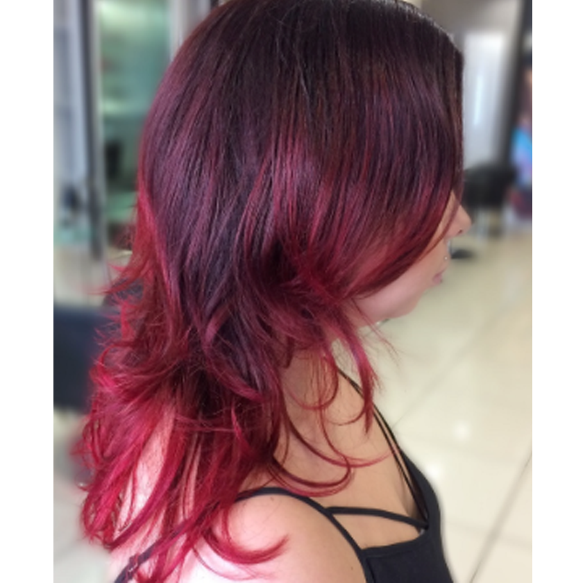 We Absolutely Love This Red Ombre Hairstyle By Luke Batham Salons Direct