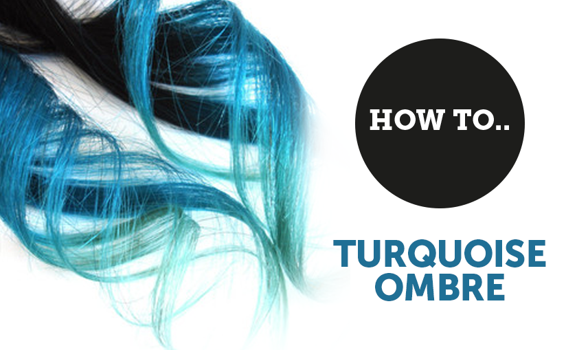 Turquoise ombre by mandy taylor salons direct for Salon turquoise