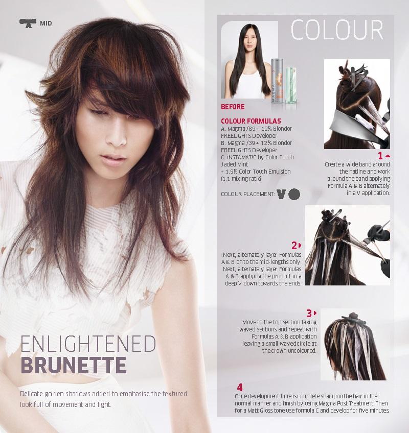 Enlightened Brunette