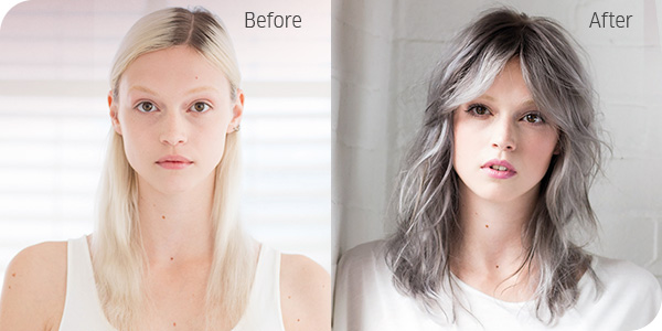 Create The Look Grungy Grey Salons Direct