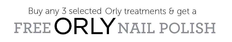 Free ORLY Nail Polish Header