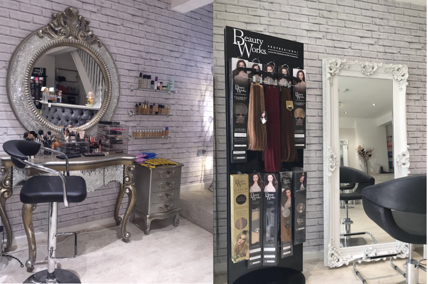 Salon design of the month mirror mirror salons direct for A step ahead salon