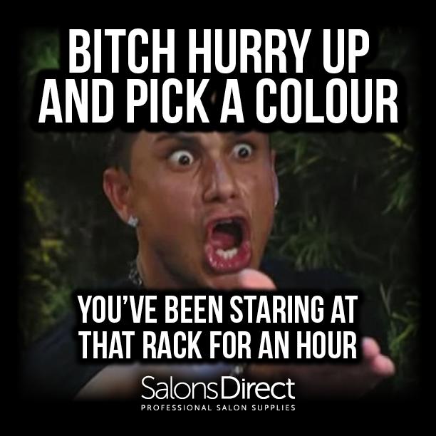 Bitch Hurry SDA