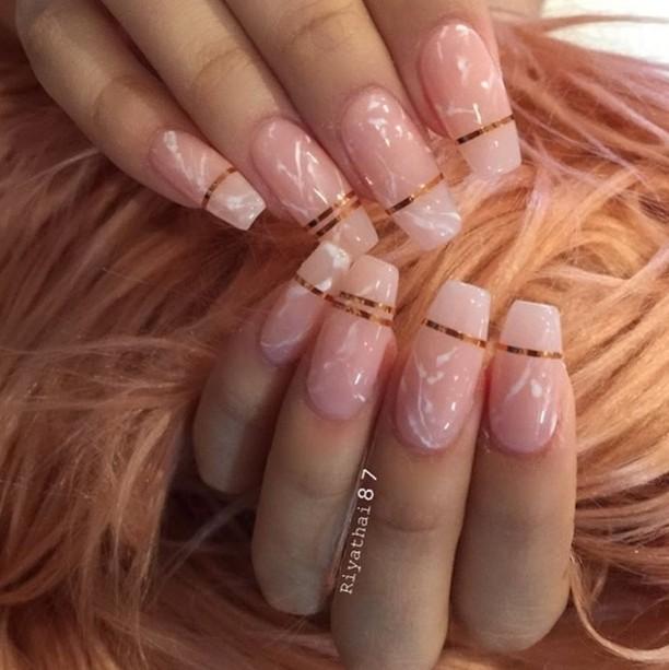 The perfect clean glossy nails riyathai87  salonsdirect salon nailshellip
