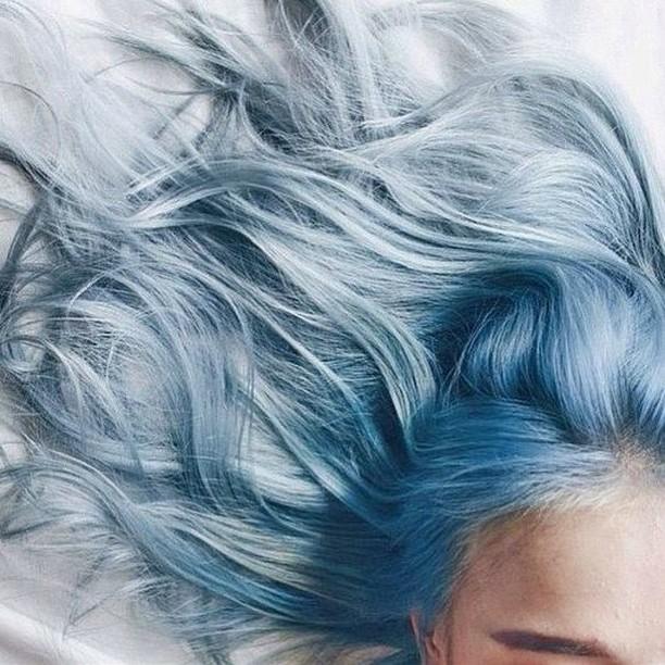 Blue Waves bluehair mermaidhair beachywaves hairenvy hairgoals saloninspired salonsdirect