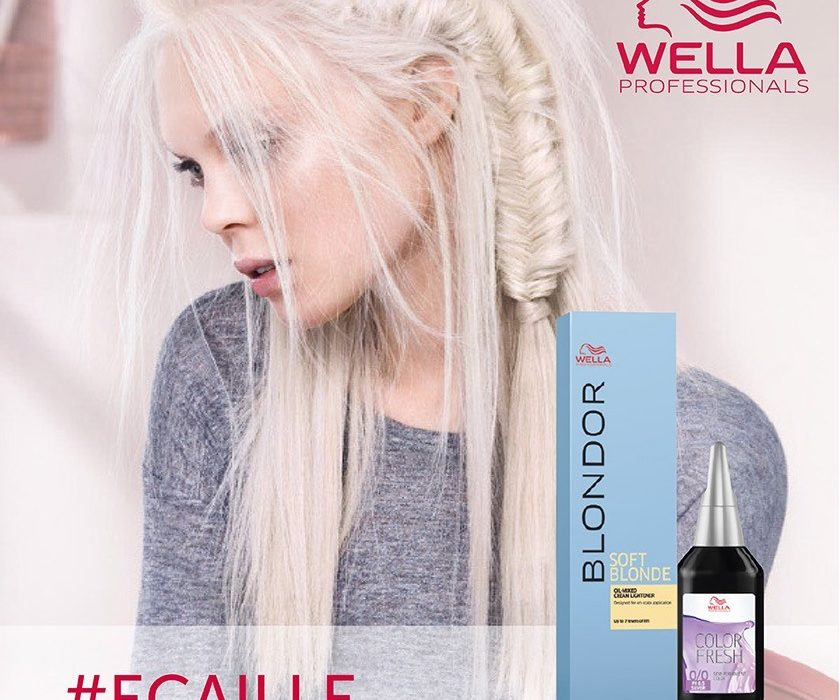 Discover Glacial Blonde By Wella Professionals Salons Direct