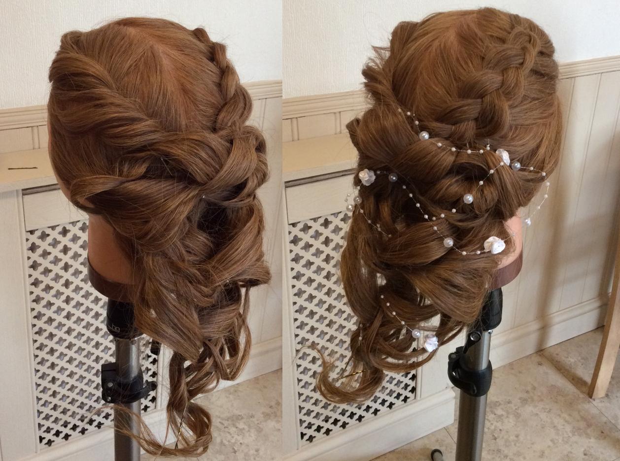 hair by adam: boho wedding updo tutorial   salons direct