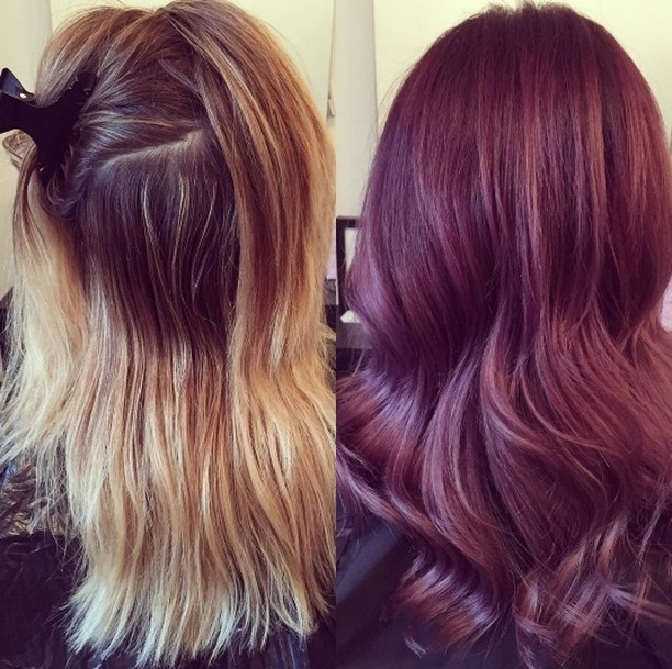 We love this transformation to this amazing dusty rose colourhellip