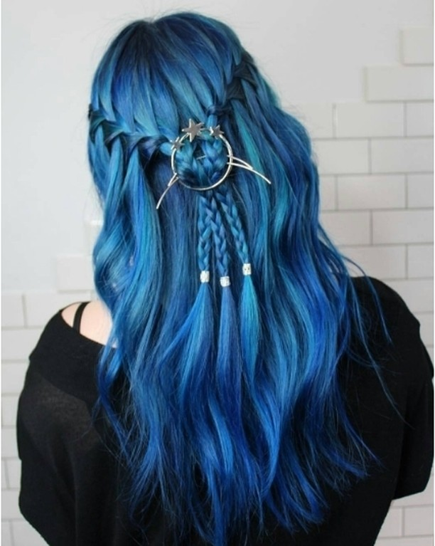 Amazing blue hair by imallaboutdahair We are obsessed with thehellip