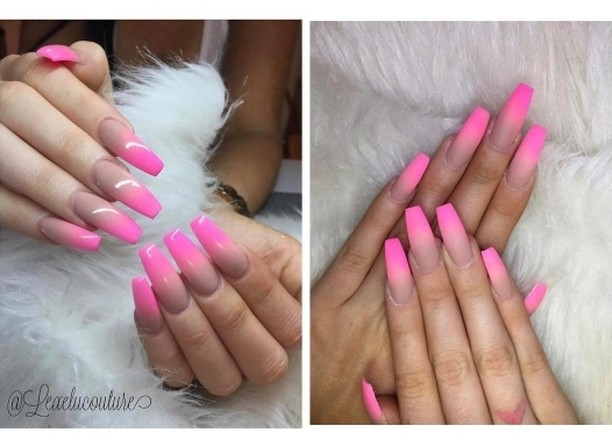 Pink Omre by lexelucouture Matte or Gloss? salonsdirect salon nailshellip
