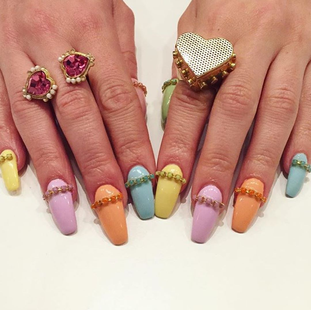 OBSESSED with these pastel beauties by nailsbymh