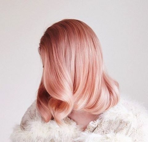 Still our favourite peachy hair inspo