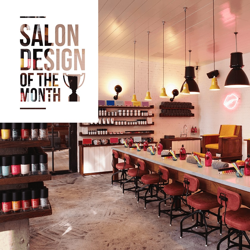 Salon design of the month cheeky salons direct - Hair salon shoreditch ...