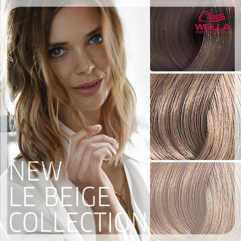 Koleston perfect and the new le beige collection salons for Le salon belge