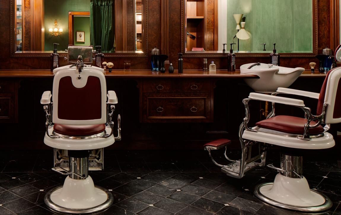 Dolce & Gabanna barbers in London