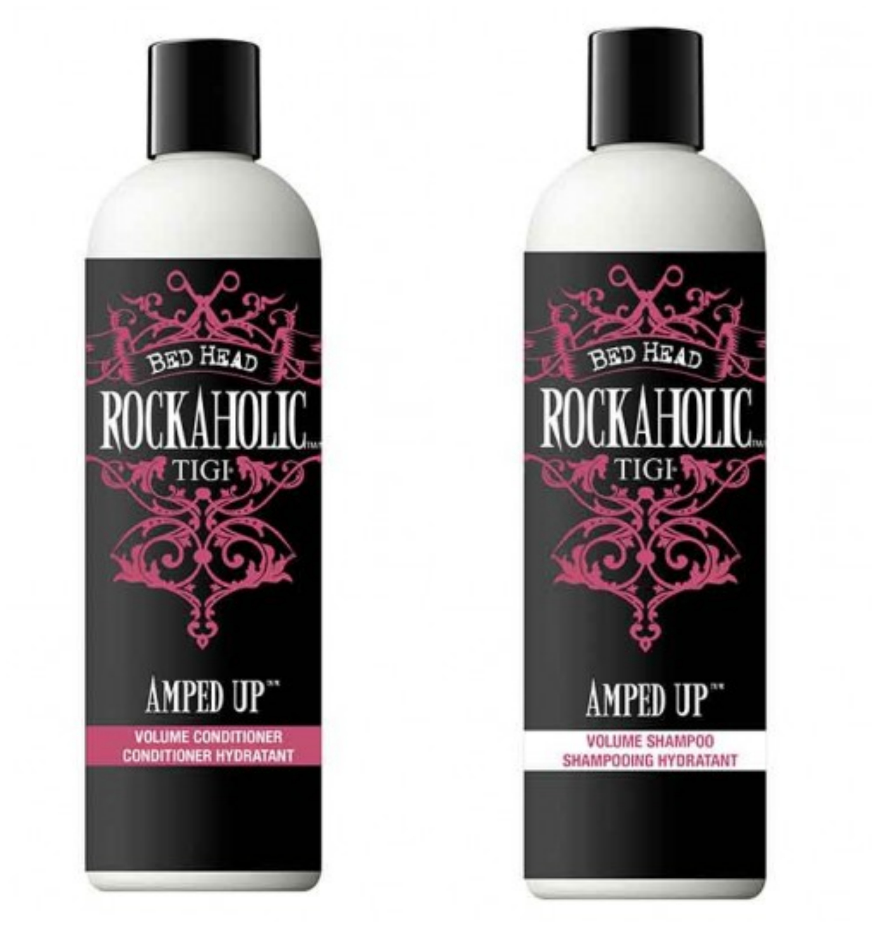 TIGI rockaholic shampoo and conditioner