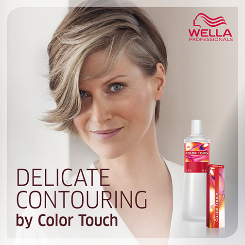 Delicate Contouring by Color Touch
