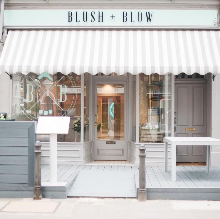 blush and blow salon