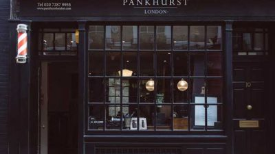 The Business Of Barbering: Pankhurst London
