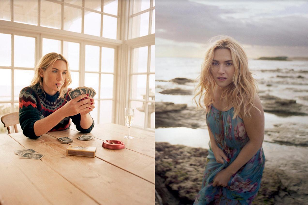 Kate Winslet Modelling Shot