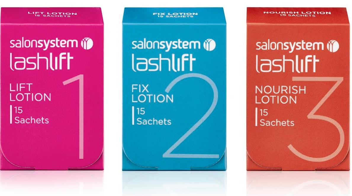 Salon System Lash Lift Solution