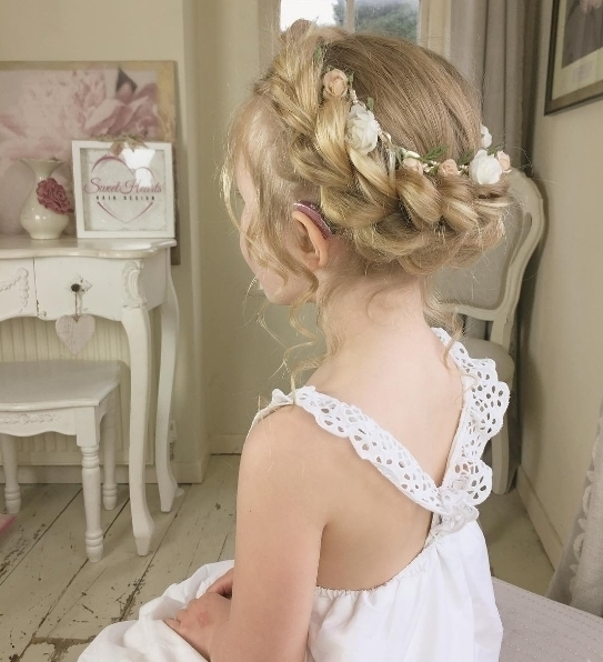 The sweetest childrens up do by sweetheartshair