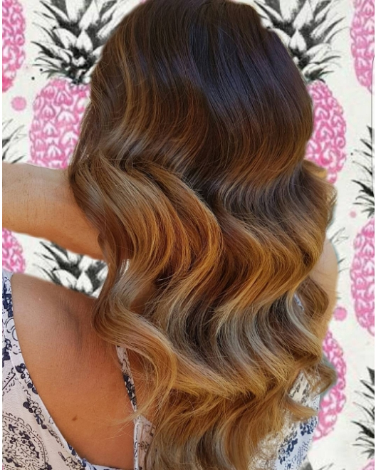 How incredible is this colour and those waves Hair byhellip