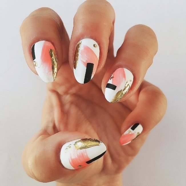 How cute is the detail on the stunning white nails?hellip