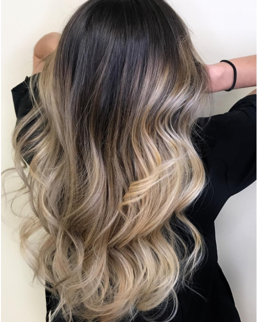 Incredible glossy ombre carraos