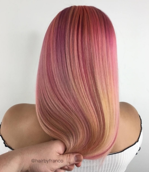 We are obsessed with this Pink Lemonade Smoothie Colour byhellip