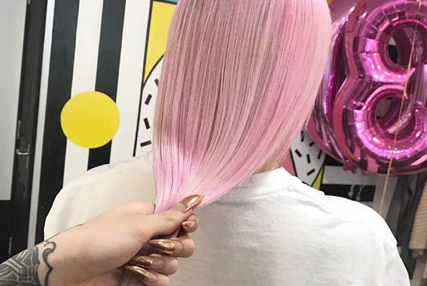 A day in the life of a Not Another Salon Colourist – Bleach Specialist Jess Cruz