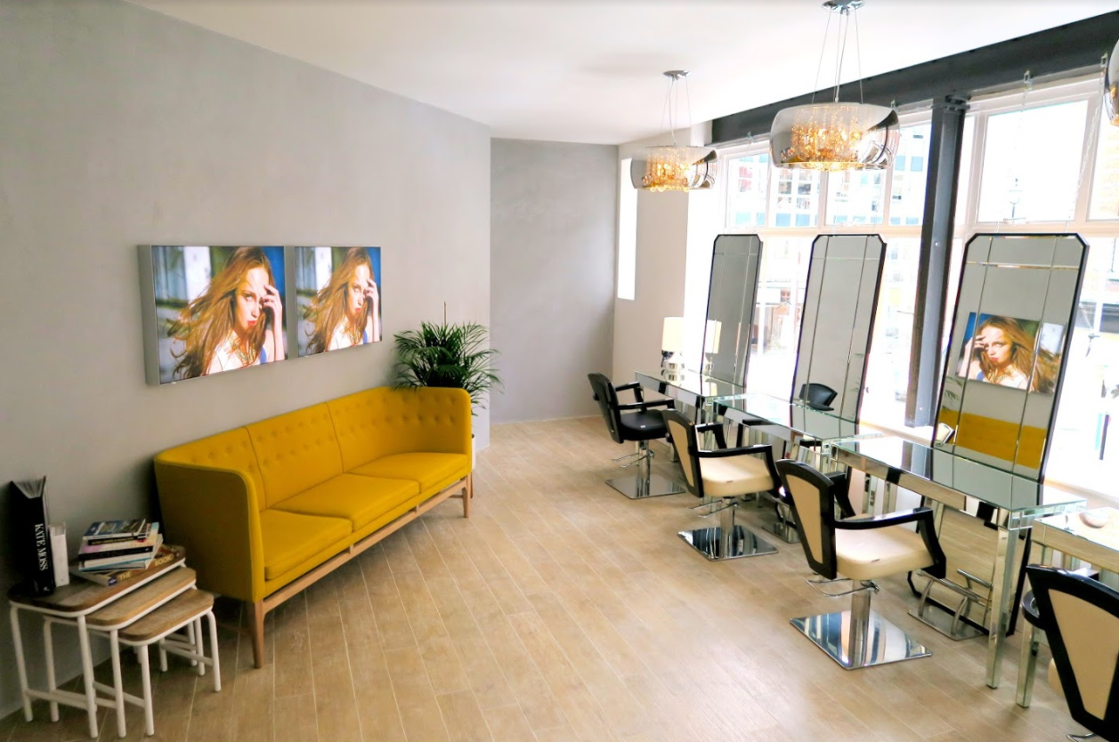 Vixen and blush salon interior 2