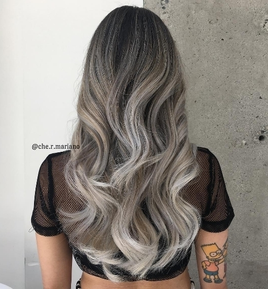 Stunning grey ombr by chermariano