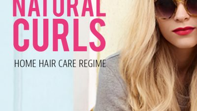 Styled and Natural Curls Home Hair Care Regime