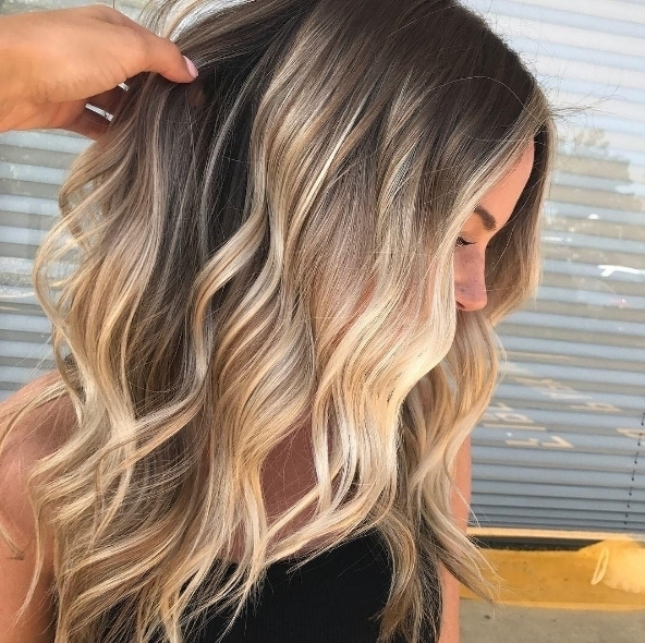 We love this beachy hair by hairbybrielles