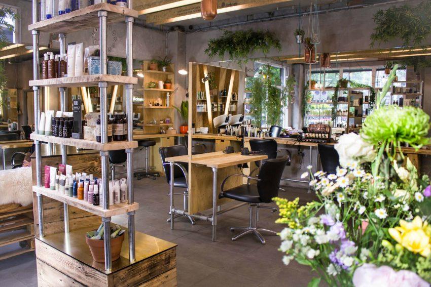 Butchers salon in Hackney, London