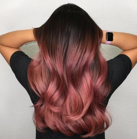 We love this rooted rosey hair by kimwasabi