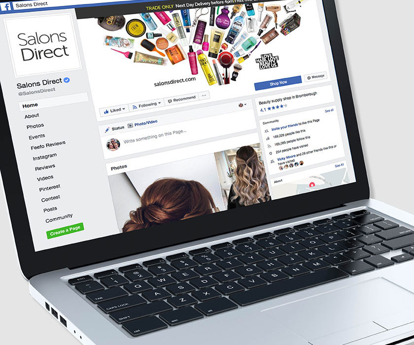 How To Create A Successful Salon Facebook Page | Salons Direct