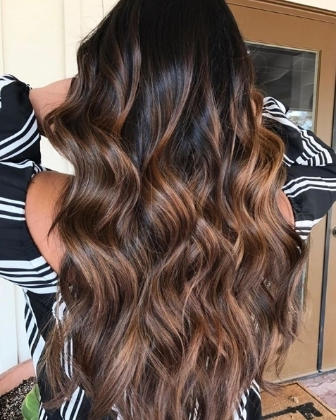 We love the gorgeous tones in this super glossy hairhellip