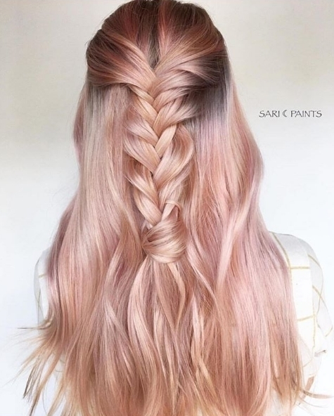 The most stunning perfect soft pink hair by saripaints