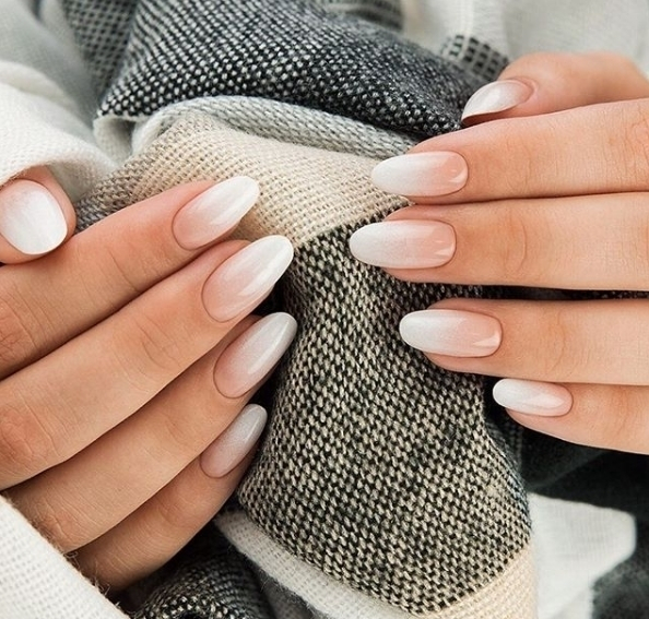 We love a fresh faded french mani any time ofhellip