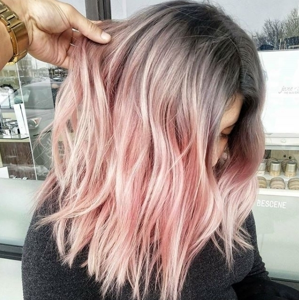 How amazing is this Steel Rose colour by bescene