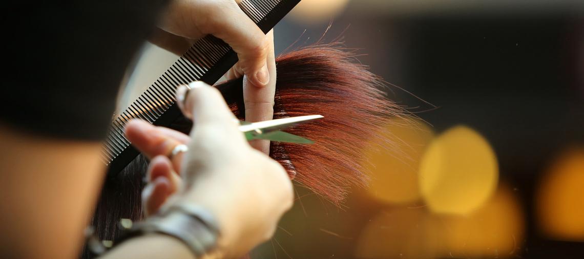 Cutting Red Hair