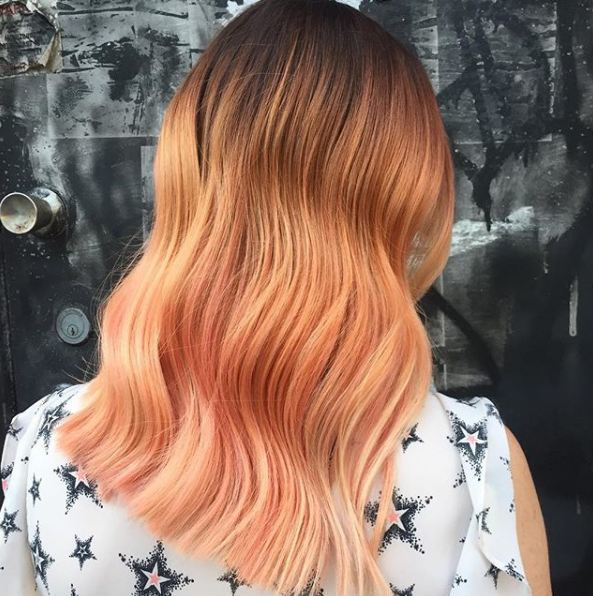 Just Peachy! Stunning colour hairbyemmabrumby