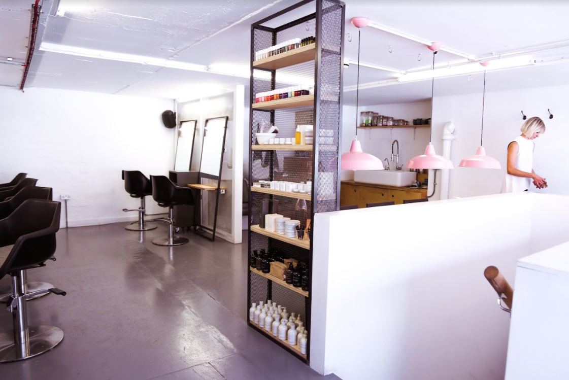 Glasshouse salon